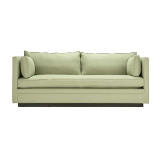Westport Walnut Upholstered Sofa Reviews Deals Amp Prices
