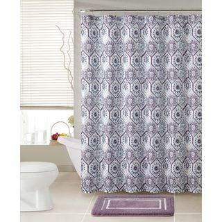 Purple Shower Curtains Overstock Com Vibrant Fabric