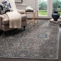 Safavieh Artisan Vintage Dark Grey/ Blue Distressed Area Rug - 4' x 6'