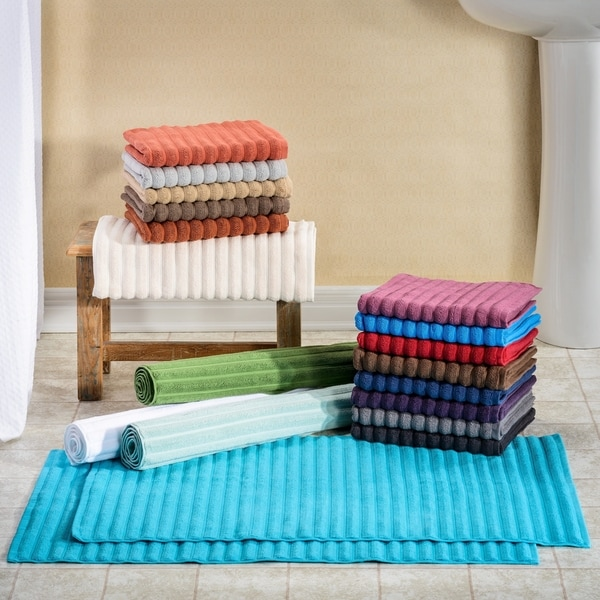 Superior Eco Friendly Cotton Soft And Absorbent Bath Mat