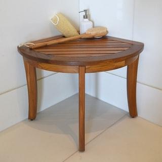 Dreamline Folding Shower Seat Natural Teak Wood