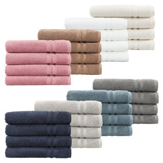 Maison Rouge Ashe Turkish Cotton 4-piece Terry Hand Towels