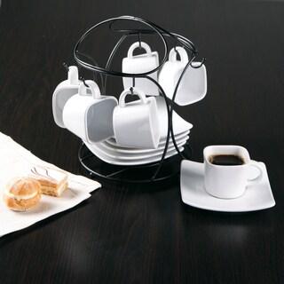 Gracious Dining Elite Porcelain 3.5oz 13 Piece Espresso Set