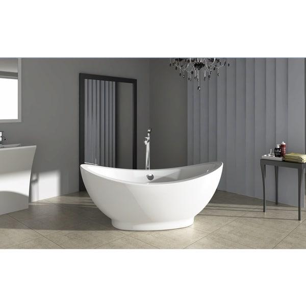 Fine Fixtures Modern Freestanding Bathtub 18103417