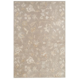 Hand Tufted Wilson Floral Mist Wool Rug 9 X 12