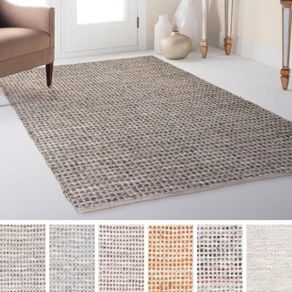 Red Reversible Chenille Flat Weave Rug 8 X 10