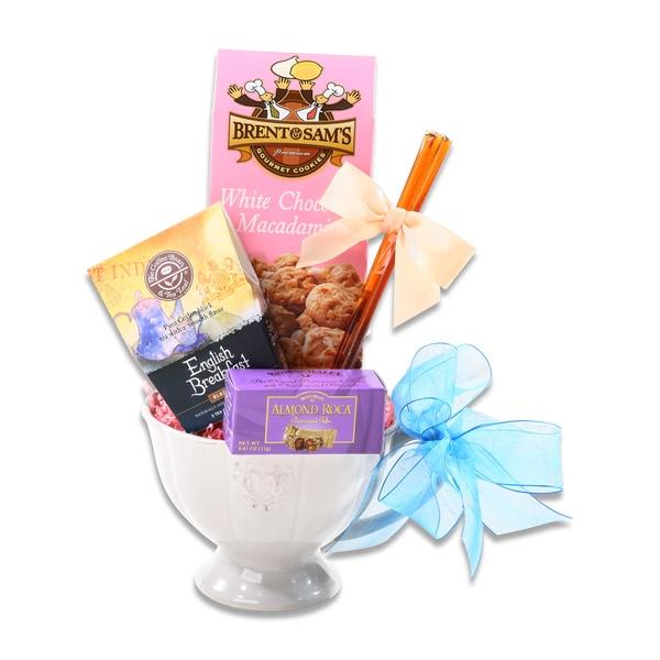 Newly Weds Foods Logo: Gifting Group Springtime Fancy French Mug Set