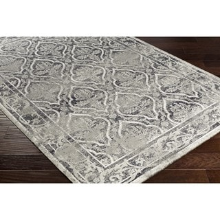 Nourison Graphic Illusions Grey Modern Traditional Rug 5