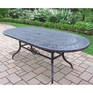 Home Styles Malibu Cast Aluminum Black 72 Inch Outdoor