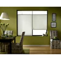 First Rate Blinds Cordless Top-down Bottom-up Cool White Cellular Shades (29 to 29.5 inches wide)