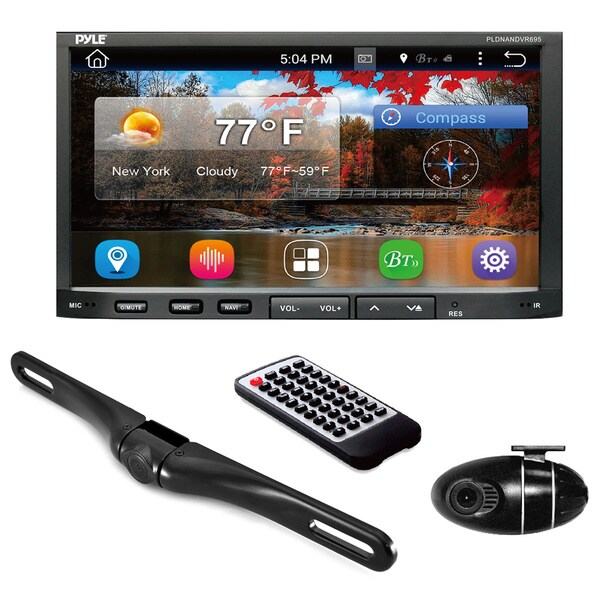 Pyle PLDNANDVR695 Android GPS/ Bluetooth Stereo Receiver