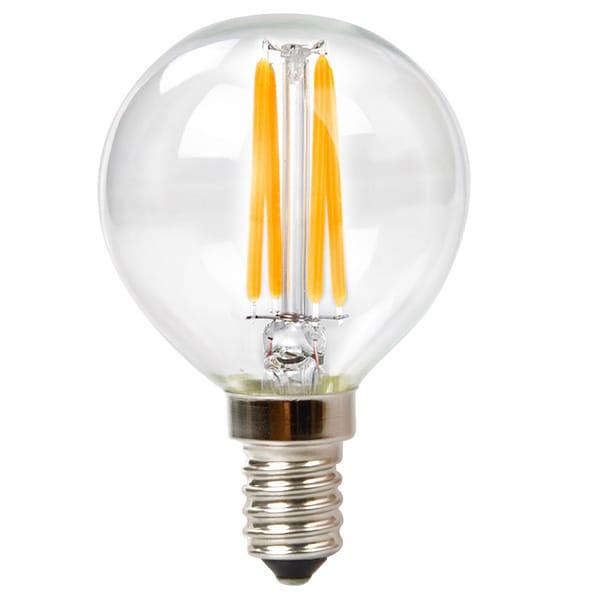 Goodlite G-83411 3.5W Filament LED G16.5 Globe Candelabra
