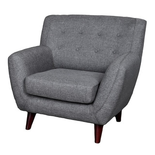 Nora Grey Accent Chair 16342628 Overstock Com Shopping