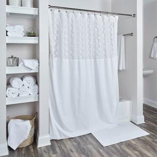 Lush Decor Serena Ruffle Trim Shower Curtain 15763697