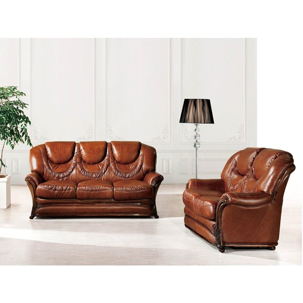 Luca Home Brown Sofa Bed And Loveseat Combo 18299057