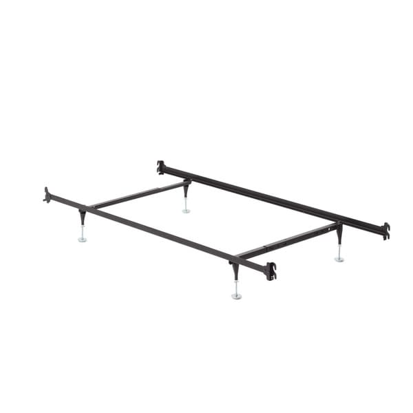 Twin Full Hook On Angle Iron Steel Bed Frame With