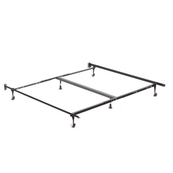 Queen King Cal King Angle Iron Steel Bed Frame With 2