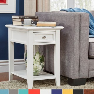 Zayden 1-drawer Side Table with Charging Station by iNSPIRE Q Bold