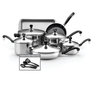 Sale Farberware Classic Stainless Steel 15 Piece