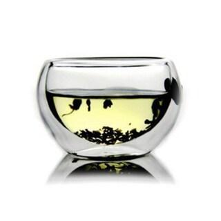 Teaology Luna Double Wall Borosilicate Tea/ Espresso Cup