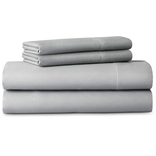 LUCID Comfort Collection 600 Thread Count Luxurious Soft Cotton Blend Sheet Set