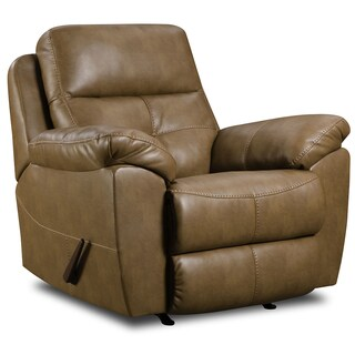 Simmons Bonded Leather Reclining Rocker Chair 15120962