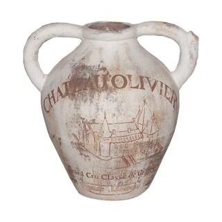 Ceramic Tuscan Urn Antique Decor 18741240 Overstock