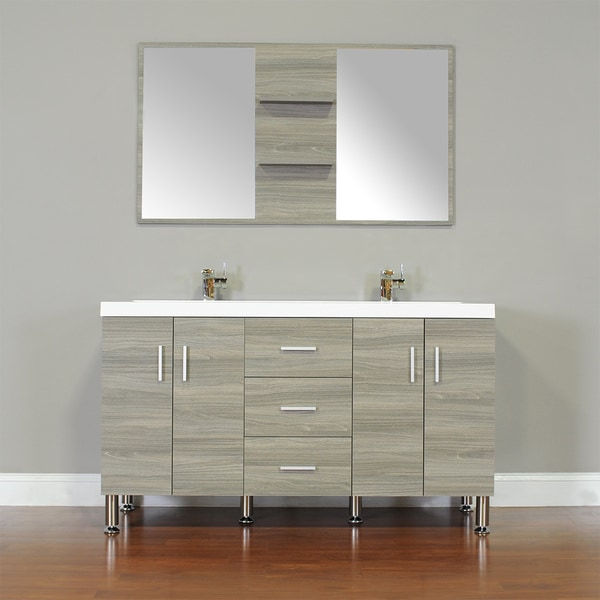 Alya Bath Ripley Collection 56 Inch Double Modern Bathroom