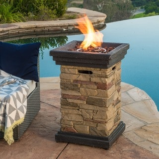 Uniflame Lp Gas Column Small Fire Pit 15257424