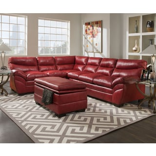 Red Sectional Sofas Comfortable Sectional Couches