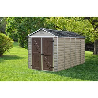 Arrow Woodhaven 10x9 Foot Steel Storage Shed 16051179