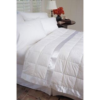 233 Thread Count White Down Blanket