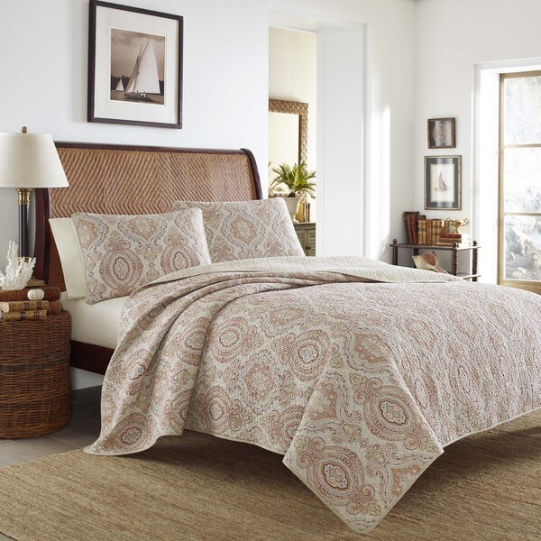 Tommy Bahama Turtle Cove Mango Quilt Set 18413381