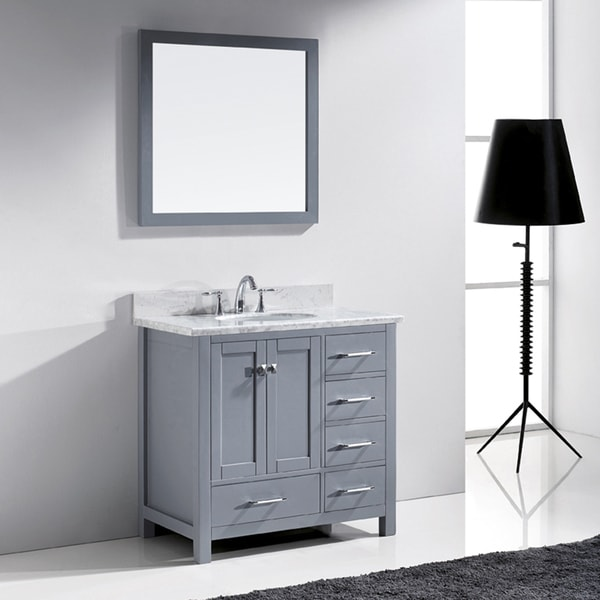 Virtu Usa Caroline Avenue 36 Inch Single Bathroom Vanity
