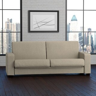 Gold Sparrow Tampa Onyx Convertible Loveseat Sleeper