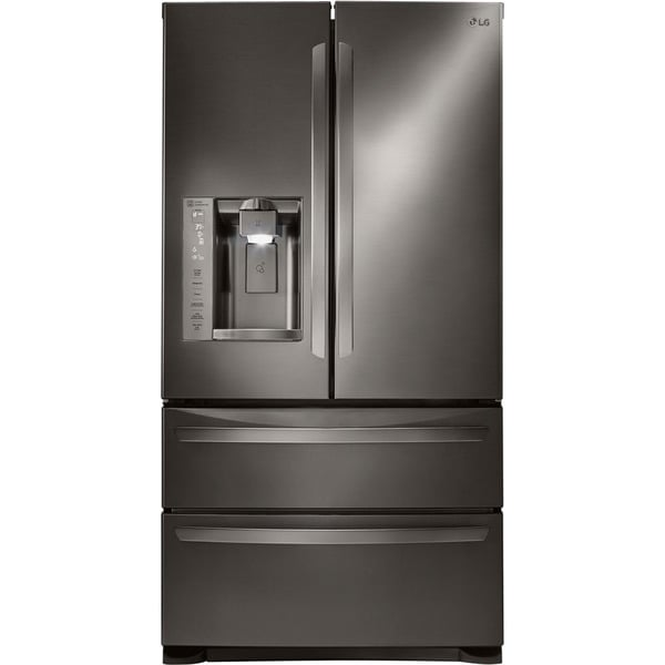 12 Cubic Ft Refrigerator LG 36-inch Freestanding French Door Refrigerator ...
