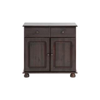 Mette Solid Pine 2-Door, 1-Drawer Sideboard