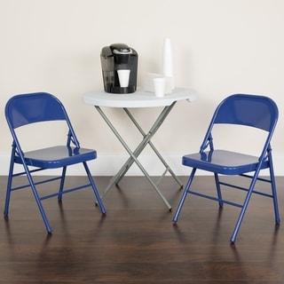 Nps Commercialine Vinyl Padded Folding Chair Pack Of 4
