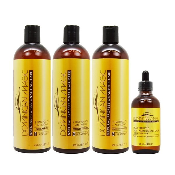Dominican Magic Hair Folicle Anti-Aging Kit
