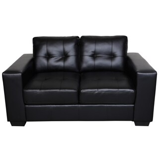 Microfiber 58 Inch Small Space Loveseat 13097184