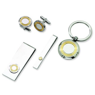 Versil Stainless Steel Yellow 4-piece Boxed Set