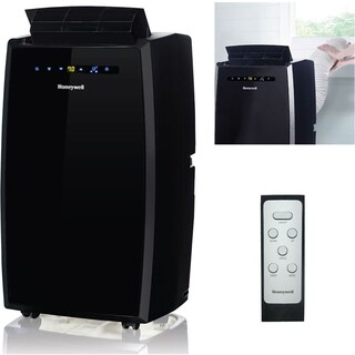 Honeywell Black MN10CESBB 10,000 BTU Portable Air Conditioner with Remote Control