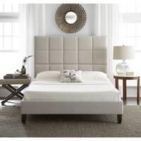 Clay Alder Home Cub River Upholstered Linen Platform Bed
