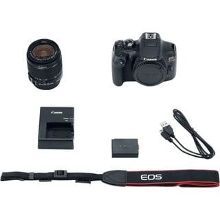 Canon Eos Rebel T6 18 Megapixel Digital Slr Camera With