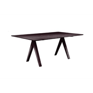 Cooper Dining Table In Deep Chocolate 80004999