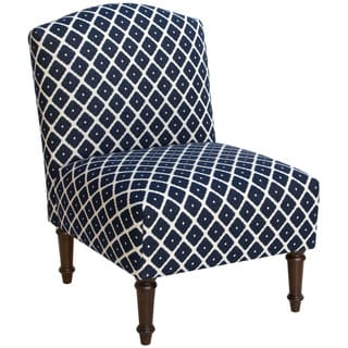 Skyline Furniture Armless Chair In Diamond Blue 17603804