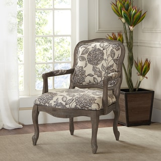 Madison Park Jayla Rollback Accent Chair Taupe 17879867