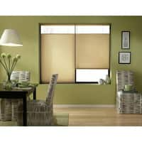 Cordless Top-down Bottom-up Leaf Gold Cellular Shades 61 to 61.5-inch Wide