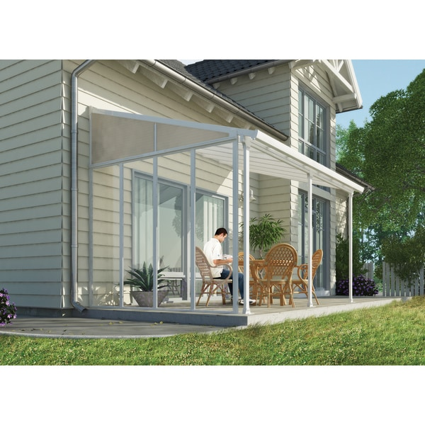 Palram 3 Series Patio Cover Side Wall 18492752
