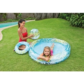 Excalibur Motorized Pool Lounger With Foot Pump 11929913